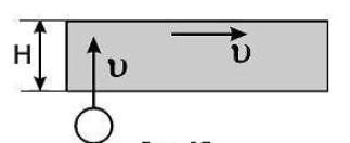 лента транспортера длиной l движется со скоростью v0 с какой скоростью